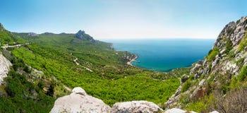 O Mar Negro Crimeia ucrânia fotografia de stock