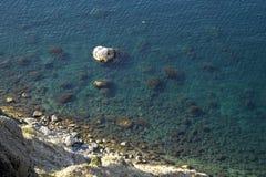 O Mar Negro em Crimeia foto de stock royalty free