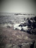 O Mar Negro em Nesebar Foto de Stock Royalty Free