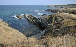 O Mar Negro em Sinemorec, Bulgária em agosto de 2016 Fotos de Stock