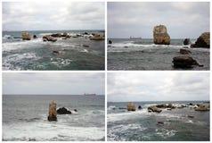 O Mar Negro Kerpe foto de stock