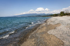 O Mar Negro na Abkhásia Imagens de Stock