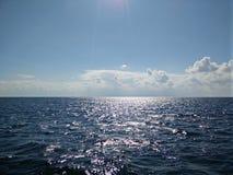 O Mar Negro preto em Sevastopol Fotografia de Stock