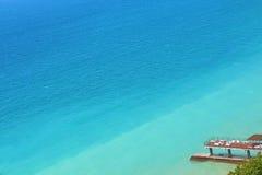 O Mar Negro, Shepsi, é acima muito bonito Imagem de Stock
