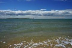 O mar no passo de Kerch Foto de Stock Royalty Free