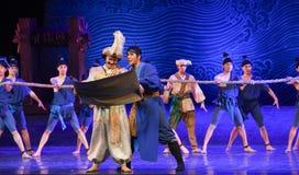 """O mar recebeu o sonho imperial do """"The do drama da édito-dança do  de seda marítimo de Road†Imagens de Stock Royalty Free"""