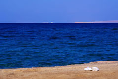 O Mar Vermelho Hurghada Egito Mar Vermelho no dezembro de 2013 Fotos de Stock