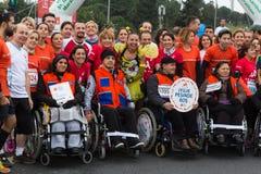36.o maratón de Estambul Fotos de archivo