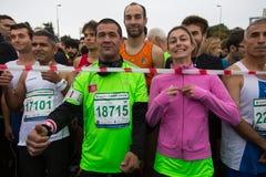 36.o maratón de Estambul Fotografía de archivo libre de regalías