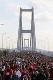 37.o maratón de Vodafone Estambul Imágenes de archivo libres de regalías