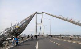 37.o maratón de Vodafone Estambul Foto de archivo