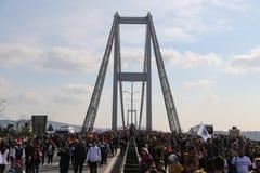 37.o maratón de Vodafone Estambul Fotos de archivo