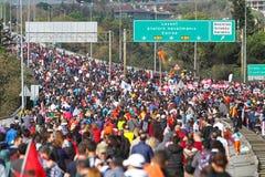 37.o maratón de Vodafone Estambul Imagen de archivo