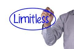 O marcador da escrita do conceito do negócio e escreve Preparate ilimitado Imagem de Stock Royalty Free