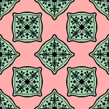 O marroquino colorido telha ornamento Imagem de Stock Royalty Free