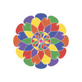 O marroquino colorido telha ornamento Foto de Stock Royalty Free