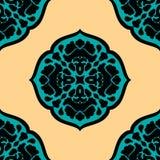 O marroquino colorido telha ornamento pode ser usado para Fotos de Stock Royalty Free