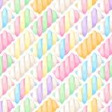 O marshmallow torce a ilustração sem emenda do vetor do teste padrão ilustração stock
