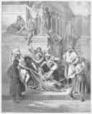 O martírio de Eleazar o escrevente foto de stock royalty free