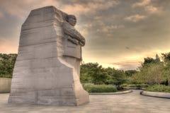 O Martin Luther King, estátua memorável do Jr em Washington, C C Imagem de Stock