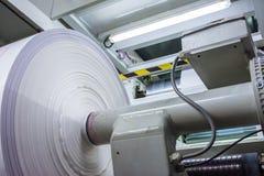 O material do rolo de Flexography impresso cobre a produção Ind do cilindro Imagens de Stock Royalty Free