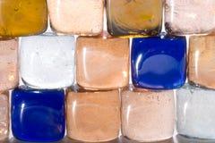 O material transparente poucas partes (5) foto de stock