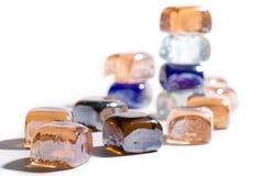 O material transparente poucas partes (7) fotografia de stock royalty free