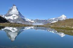O Matterhorn Fotografia de Stock