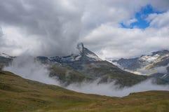 O Matterhorn Foto de Stock