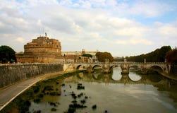 Mausoléu de Hadrian Imagem de Stock Royalty Free