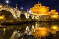 O mausoléu de Hadrian, conhecido geralmente como o castelo do HOL imagem de stock royalty free