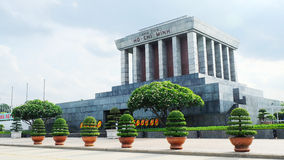O mausoléu de Ho Chi Minh Imagem de Stock Royalty Free