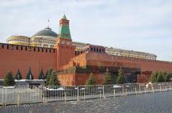 O mausoléu de Lenin no quadrado vermelho, Moscou, Rússia Fotografia de Stock