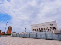O mausoléu de Mohammed V em Rabat Foto de Stock Royalty Free