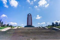 O mausoléu do soldado desconhecido, Bucareste imagem de stock royalty free