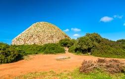 O mausoléu real de Mauretania em Argélia fotos de stock royalty free