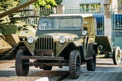 O MB de Willys - jipe, U S O caminhão de exército, 4x4 era a Foto de Stock