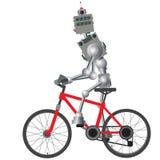 O mecanismo cybernetic está dando um ciclo Ilustra??o do vetor ilustração royalty free