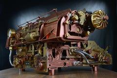 O mecanismo do steampunk. Imagens de Stock