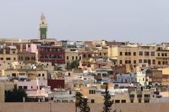 O medina de Meknes, Marrocos Fotografia de Stock