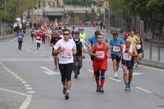 10o meia maratona de Istambul Imagem de Stock