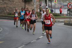 10o meia maratona de Istambul Imagem de Stock Royalty Free