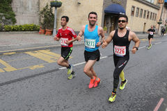 10o meia maratona de Istambul Foto de Stock Royalty Free