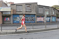 10o meia maratona de Istambul Imagens de Stock