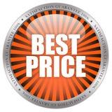 O melhor ícone do preço Imagem de Stock