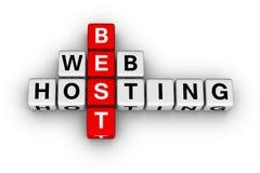 O melhor acolhimento de Web Imagem de Stock