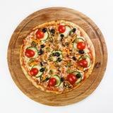 O melhor alimento do italiano da pizza Fotografia de Stock Royalty Free