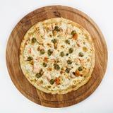 O melhor alimento do italiano da pizza Fotografia de Stock