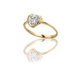 O melhor anel de noivado Fotos de Stock Royalty Free