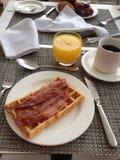 O melhor café da manhã nunca Imagens de Stock